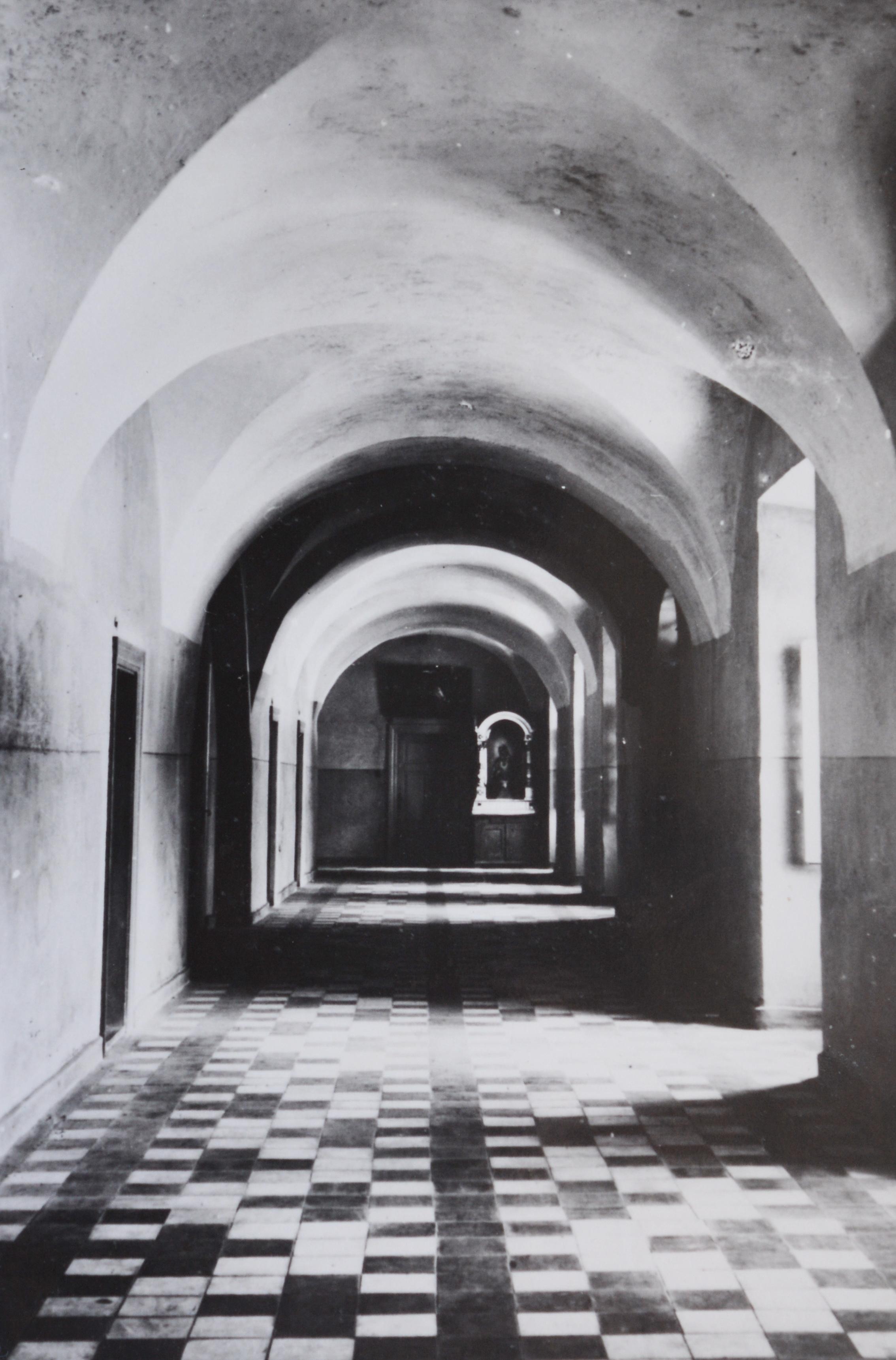 Vienuolyno interjeras