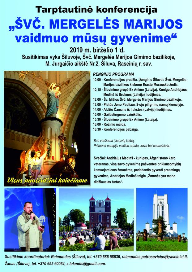 Tarptautinė konferencija Šiluvoje