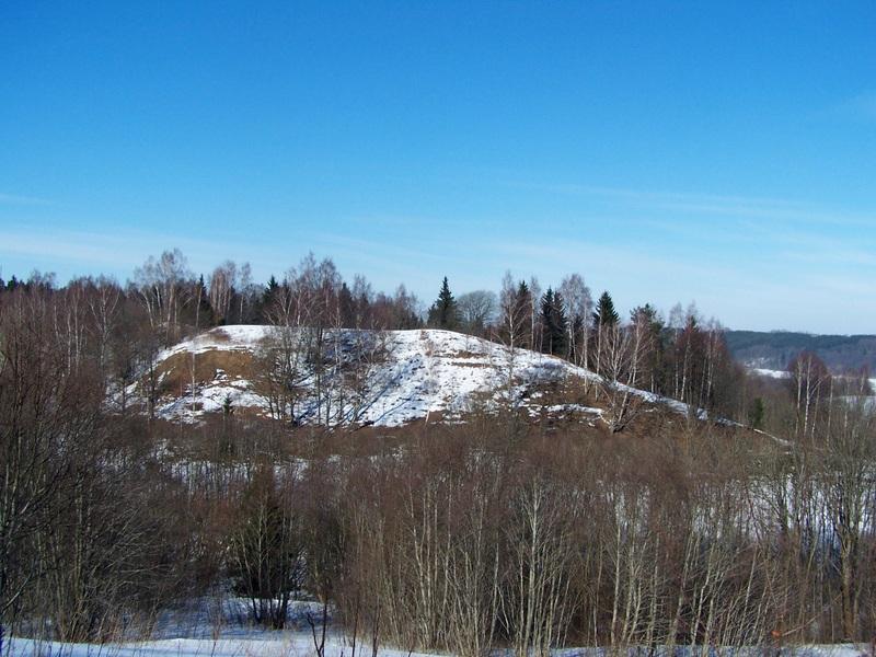 13 Padubysio piliakalnis vad. Kaukuru iš pietų pusės 2010 m. V. Greičiaus nuotr.