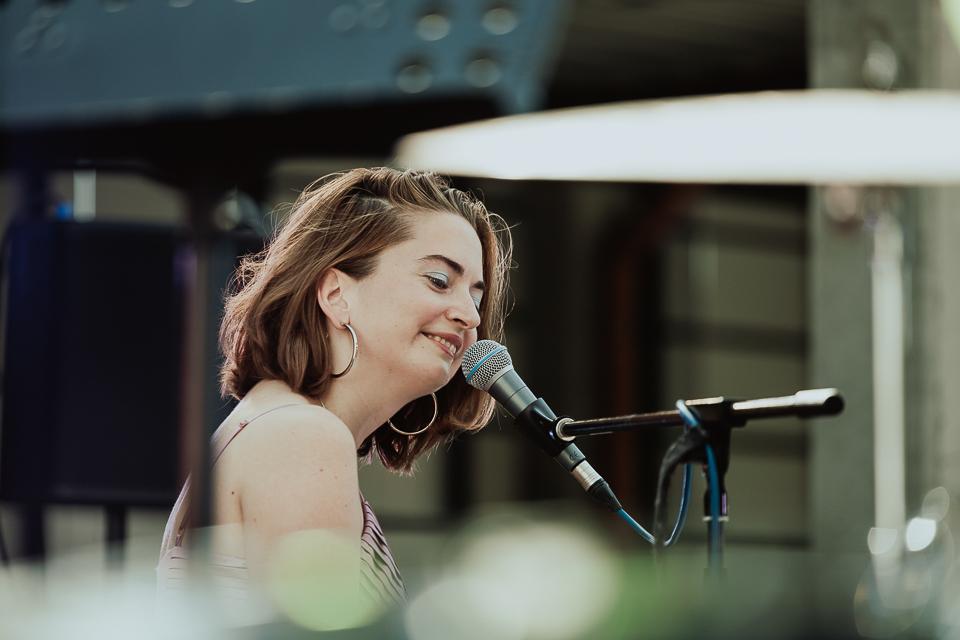 Solange Arzu Raseinių šiuolaikinės muzikos festivalyje. Foto Sigitas Gudaitis